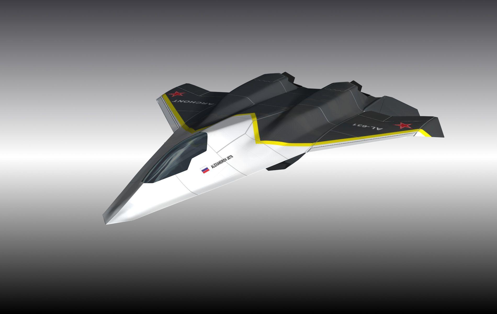 АЛ-631 АРХОНТ (истребитель 6-го поколения)